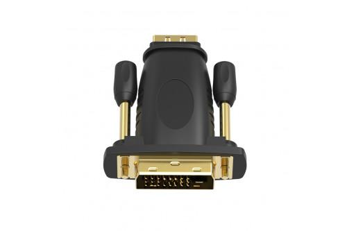 Адаптер-переходник Vention DVI 24+1 M/ HDMI 19F