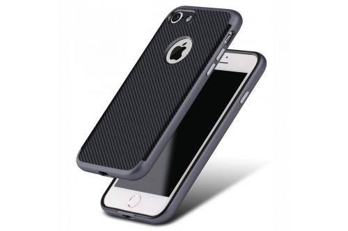 Чехол пластиковый EVA для Apple iPhone 6/6s - Черный