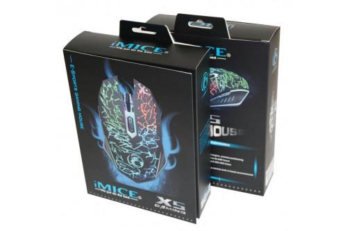 Игровая мышь IMICE X5 оптическая USB - Белая
