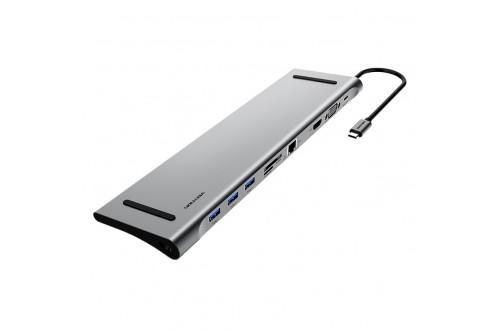 Мультифункциональная док-станция Vention USB Type C 10 в 1