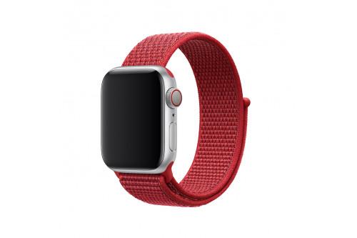 Нейлоновый ремешок EVA для Apple Watch 42/44 mm Красный