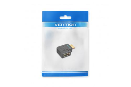 Адаптер-переходник Vention HDMI v2.0 19M/19F угол 270